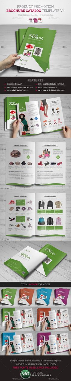 Product Promotion Catalog InDesign Template #catalog #catalogtemplate Download: http://graphicriver.net/item/product-promotion-catalog-indesign-template-v4/11473441?ref=ksioks