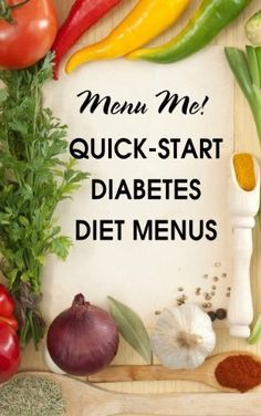 Now with bonus grocery shopping guide! Diet help for newly diagnosed type 2 diabetes. Diabetes meal planni
