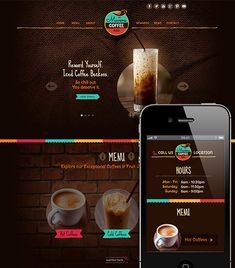 This Adobe Muse Template/Theme, Mavens Coffee Bar is brought to you by musegrid.com. This template is an excellent example of a single page layout for a coffee shop/bar or cafe. It is built with Adobe Muse.