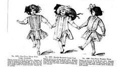 Children's Fashion 1910s: clothing became more practical for children in the 1910s. Dresses had a low waist with sleeves full to the elbow and tight to the wrist. More color appeared in dresses after 1910; skirt length was knee length