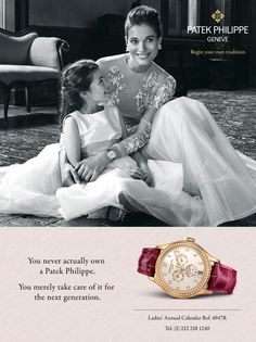Image result for patek philippe ad