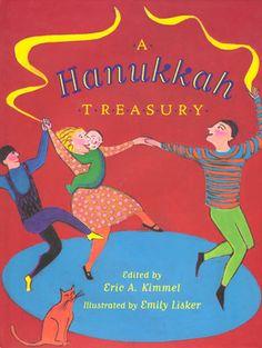 A Hanukkah Treasury by Eric A. Kimmel  http://www.bookscrolling.com/the-28-best-hanukkah-books/ #besthanukkahbooks #bookscrolling