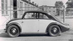 O Beetle da Mercedes Benz -protótipo de 1931 com motor traseiro.