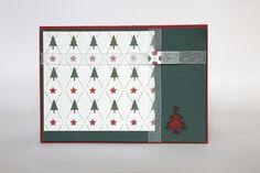 Weihnachtskarte Grußkarte Weihnachtsbaum von CardvanArnhem auf Etsy, €3.50