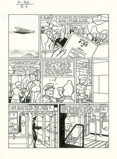 * 1989 - Freddy Lombard : F-52 by Yves Chaland, Yann - Comic Strip