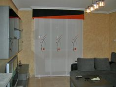 paneles Sliding Panels, Divider, Room, Furniture, Home Decor, Custom Curtains, Net Curtains, House Decorations, Bedroom