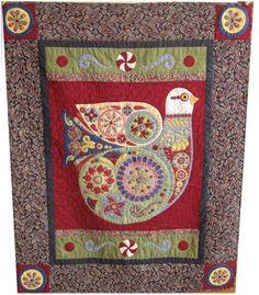 Christmas Dove, pattern by Angie Padilla (Ecuador)