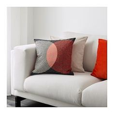 IKEA - VÅRLÖK, Cushion cover, You can easily vary the look, because the two sides have different designs.The zipper makes the cover easy to remove.