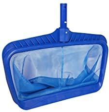 Swimline Professional Heavy Duty Deep-Bag Pool Rake, Blue for sale online