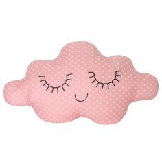 Coussin nuage Pink Star (-20%)    Zü Little Girl Rooms, Little Girls, Costura Diy, Cloud Pillow, Textiles, Love Craft, Inspiration For Kids, Pink Polka Dots, Backrest Pillow