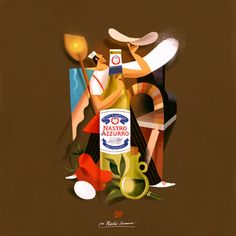 Riccardo Guasco Great illustration and great beer :)