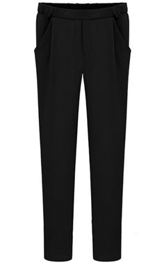 Shop Black Pockets Pencil Pant online. Sheinside offers Black Pockets Pencil Pant & more to fit your fashionable needs. Free Shipping Worldwide!