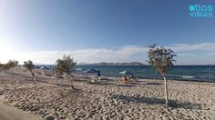 Kos Island - Tigaki - AtlasVisual Seaside Village, Sailing, Greece, Beautiful Places, Island, City, Videos, Beach, Water