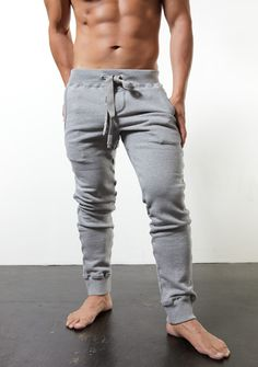 grey jersey post workout gym pants | Il MIO MODA: My Style