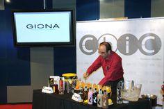 Campeonato de Barman Coronas Galicia con Giona Premium Glass, organizado por destilados Coronas Galicia, creadora de la ginebra Gin Chic, y el Casino Mediterraneo de Alicante organizaron. 19-05-14