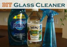 Dyi glass cleaner