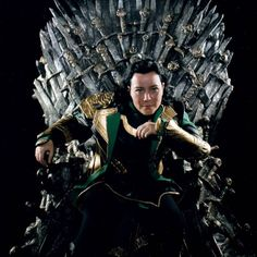 Loki and the Iron Throne Cosplay by Ephiria Costumes