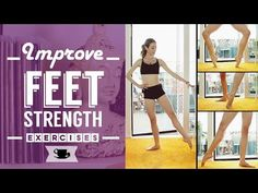 Improve Feet Strength for Ballet and Dance | Lazy Dancer Tips - YouTube