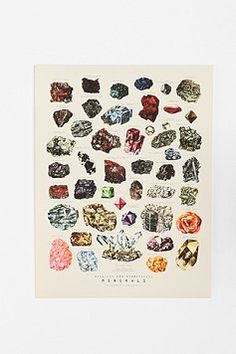 Minerals Print  Urban Outfitters