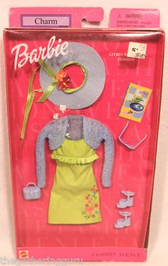 New Fashion Avenue Barbie Charm Citrus Blossom Fashion Doll Clothes 2001 | eBay