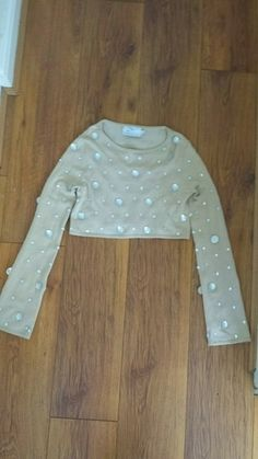 Sparkly diamond cropped top S