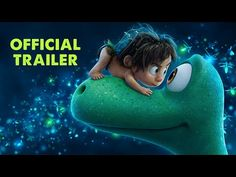 The Good Dinosaur - New Trailer - Disney - Pixar - Theater release Nov 2015 The Good Dinosaur, Dinosaur Movie, Trailer 2, New Trailers, Movie Trailers, Official Trailer, Disney Pixar, Disney Au, Movies