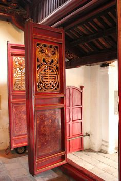 Door at the Imperial Citadel - Hue, Viet Nam