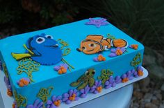 Nemo Cake Decorating Kit : Nemo cake, Finding nemo cake and Cake decorating kits on ...