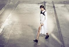 YVY - BRUT collection - shirt dress available on yvy.ch - Photography Sven Bänziger Sven, Overalls, Size 12, Shirt Dress, Sleeves, Cotton, How To Wear, Collection, Tops