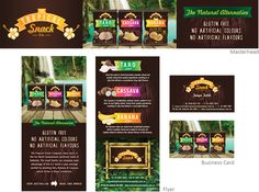 The Tropical Snack Co. - we also design all sorts of marketing material: brochures, business cards, advertising, point of sale, tradeshow banners, lots more