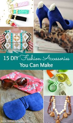 15 DIY Fashion Accessories You Can Make!   Hello Little Home