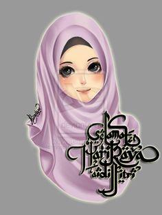 .:HappyEidMubarak:. by ringoHana.deviantart.com on @DeviantArt