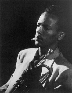 Quincy Jones as a young trumpeter