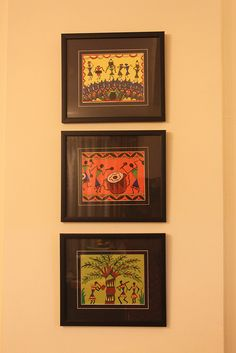 9 Helpful Tips AND Tricks: Interior Painting interior painting techniques coats.Living Room Paintings With Dark Furniture interior painting ideas whole house. Madhubani Art, Madhubani Painting, Worli Painting, Painting Frames, Art Frames, Ethnic Home Decor, Indian Home Decor, Big Canvas Art, Interior Paint Colors