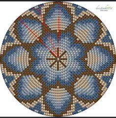 Tapestry Crochet Patterns, Diy Mask, Beading Patterns, Stitch Patterns, Beads, Knitting, Holiday Decor, Crafts, Crocheting