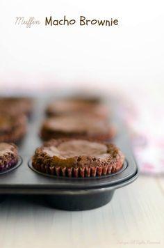 Dolcizie ... meine süße Köstlichkeiten !: Macho Brownie Muffins