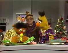 It's not Christmas without Christmas Eve on Sesame Street. So many special memories growing up between Mr. Hooper, Keep Christmas With You, Ernie & Bert's present exchange, Big Bird trying to meet Santa Claus & my personal favorite... Cookie Monster trying to write his Christmas letter to Santa. ;) One of my top two favorite Christmas movies of all time. This makes me smile from ear to ear.