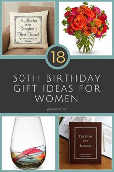 18 Good 50th Birthday Gift Ideas For Her & 530 Best Gifts For Women images | Aunt gifts Auntie gifts Birthday ...