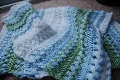 Hairpin lace blanket - I use to watch my grandma do this...have to learn.
