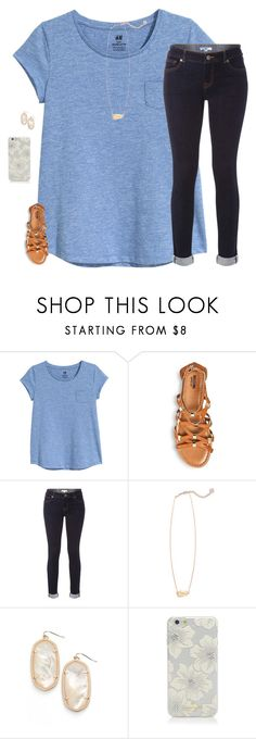 """""""Sorry I haven't posted in a while! Homework is taking over my life!!!"""" by moseleym ❤ liked on Polyvore featuring Merona, White Stuff, Kendra Scott and Kate Spade"""