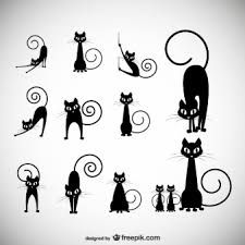 Resultado de imagen para gatos animados