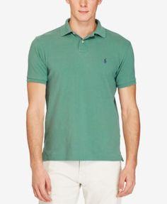 4aad9eb4a6756 Polo Ralph Lauren Men s Classic-Fit Mesh Polo   Reviews - Polos - Men -  Macy s