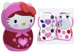 Hello+Kitty+Make+Up+Kit | Hello Kitty Nordic trousse matrioska