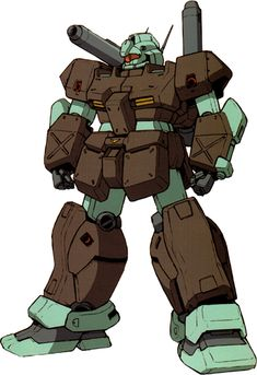 """the-three-seconds-warning: """" RGC-83 GM Cannon II The RGC-83 GM Cannon II is heavier armed than its predecessors. It is equipped with two shoulder-mounted beam cannons, unlike the RX-77-2 Guncannon, and can carry a 90mm machine gun as well as a beam..."""