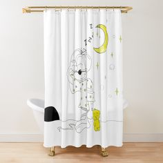Add a warm and cozy touch to your bathroom decor with a shower curtain. Bath Accessories, Buttonholes, Warm And Cozy, Floor Pillows, Wall Tapestry, Tub, Curtains, Shower, Bathroom