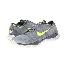 New Nike Womens Flex Supreme TR 3 Cross Trainer Wolf GreyVolt 6 Wide >>> Find out more about the great product at the image link.(This is an Amazon affiliate link and I receive a commission for the sales)
