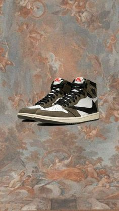 Astro Wallpaper, Nike Wallpaper, Travis Scott Shoes, Jordan Shoes Wallpaper, Travis Scott Wallpapers, Shoe Art, Hot Shoes, Jordan 1, Nike Shoes