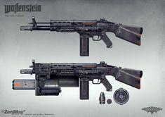 Wolfenstein: The New Order - AR 60 with extras by torvenius on DeviantArt