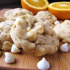 """White Chocolate Orange Cookies   """"If there is a cookie hall of fame, this one should be in it."""""""