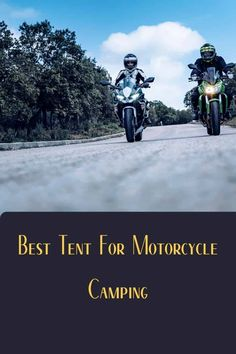 Learn how I, a camper just like you, overcame my curiosity about what is the best tents for motorcyle camping. Backpacking Tent, Tent Camping, Camping Gear, Outdoor Camping, Motorcycle Campers, Motorcycle Trailer, 4 Person Tent, Tent Design, Cool Tents